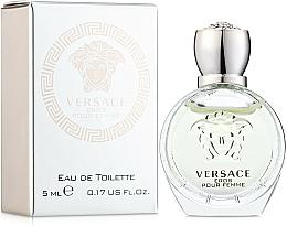 Düfte, Parfümerie und Kosmetik Versace Eros Pour Femme - Eau de Toilette (Mini)