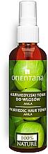 Düfte, Parfümerie und Kosmetik Anregendes Tonic zur Kräftigung von feinem, reiferem Haar - Orientana Ayurvedic Hair Toner