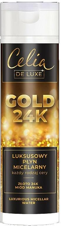 Luxuriöses Mizellenwasser - Celia De Luxe Gold 24k