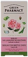 Düfte, Parfümerie und Kosmetik Flüssiges Seidenserum für spröde Haarspitzen mit Aloe Vera-Extrakt - Green Pharmacy