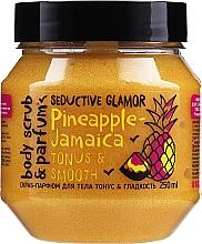 Glättendes Körperpeeling mit Ananas - MonoLove Bio Pineapple-Jamaica Tonus & Smoothness Scrub — Bild N1
