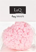 Düfte, Parfümerie und Kosmetik Handgemachte Naturseife Herz mit Kirschduft - LaQ Happy Soaps Natural Soap