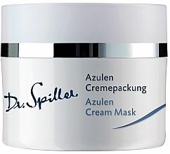 Düfte, Parfümerie und Kosmetik Crememaske für empfindliche Haut mit Azulen - Dr. Spiller Azulen Cream Mask