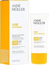 Düfte, Parfümerie und Kosmetik Sonnenschutzcreme für das Gesicht SPF 30 - Anne Moller Age Sun Resist Protective Face Cream SPF30
