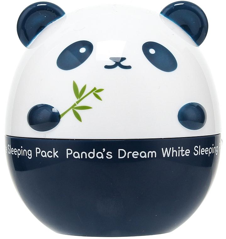 Aufhellende Nachtmaske mit Lavendel- und Rosmarinextrakt - Tony Moly Panda's Dream White Sleeping Pack