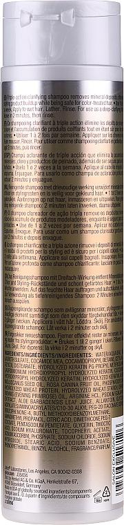 Tief reinigendes und feuchtigkeitsspendendes Shampoo für trockenes und geschädigtes Haar - Joico K-Pak Clarifying Shampoo — Bild N2