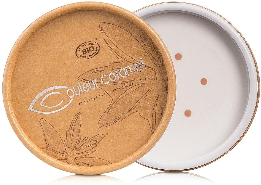 Leichtes, kompaktes und mineralisches Make-up zum Pudern - Couleur Caramel Bio Mineral Foundation