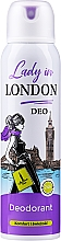 Düfte, Parfümerie und Kosmetik Deospray - Lady In London Deodorant
