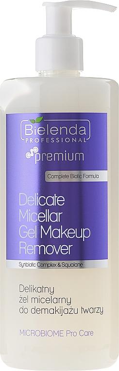 Mizellen-Gesichtswaschgel zum Abschminken - Bielenda Professional Microbiome Pro Care Delicate Micelar Gel Makeup Remover