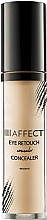 Düfte, Parfümerie und Kosmetik Concealer für die sensible Augenpartie - Affect Cosmetics Eye Retouch Concealer