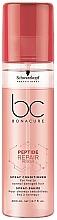 Düfte, Parfümerie und Kosmetik Haarspülung-Spray für geschädigtes Haar - Schwarzkopf Professional BC Bonacure Peptide Repair Rescue Spray Conditioner