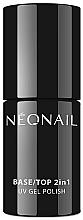 Düfte, Parfümerie und Kosmetik 2in1 UV Nagelunter- und Nagelüberlack - NeoNail Professional Base/Top 2in1 UV Gel Polish