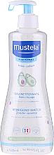 Düfte, Parfümerie und Kosmetik Reinigungswasser für Körper und Gesicht mit Avocadoextrakt - Mustela Cleansing Water No-Rinsing With Avocado
