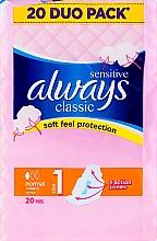 Düfte, Parfümerie und Kosmetik Damenbinden mit Flügeln 20 St. - Always Classic Sensitive Normal