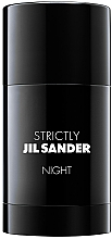 Düfte, Parfümerie und Kosmetik Jil Sander Strictly Night Deodorant Stick - Parfümierter Deostick