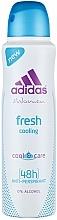 Düfte, Parfümerie und Kosmetik Deospray Antitranspirant - Adidas Anti-Perspirant Fresh Cooling 48h