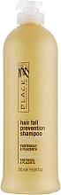 Düfte, Parfümerie und Kosmetik Shampoo gegen Haarausfall mit Panthenol und Plazenta - Black Professional Line Panthenol & Placenta Shampoo