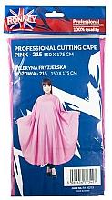 Düfte, Parfümerie und Kosmetik Friseurumhang rosa - Ronney Professional Cutting Cape