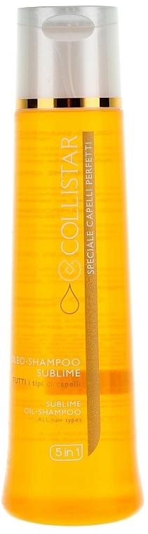 Shampoo-Öl für alle Haartypen - Collistar Oleo-Shampoo Sublime