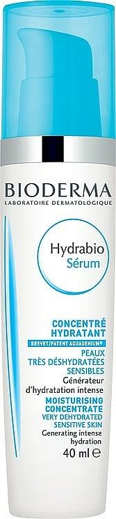 Intensiv feuchtigkeitsspendendes Gesichtsserum - Bioderma Hydrabio Serum Moisturising Concentrate