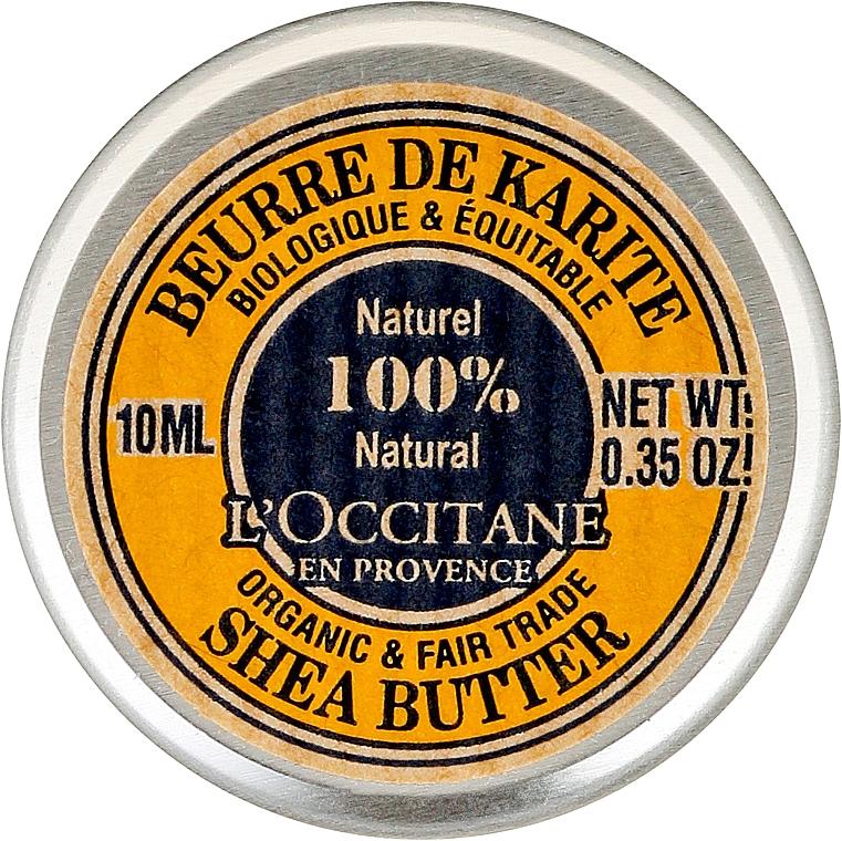 Körpercreme mit Sheabutter (Mini) - L'occitane Organic Pure Shea Butter — Bild N1