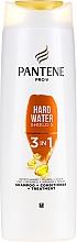 Düfte, Parfümerie und Kosmetik 3in1 Shampoo und Conditioner - Pantene Pro-V Hard Water Shield 5 3in1 Shampoo