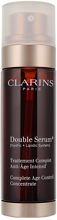 Anti-Aging-Gesichtsserum - Clarins Double Serum Complete Intensive Anti-Ageing Treatment