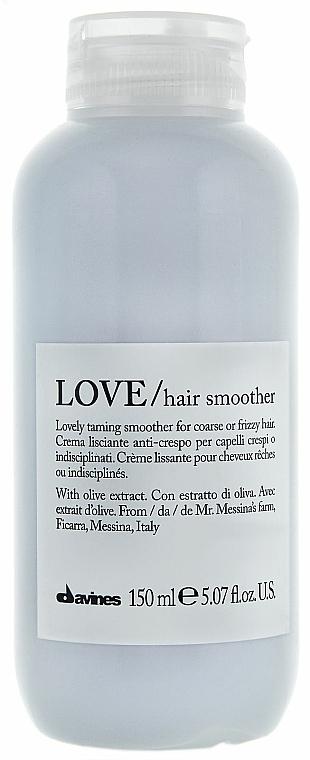 Glättungscreme für widerspenstiges Haar - Davines Love Lovely Taming Smoother Cream