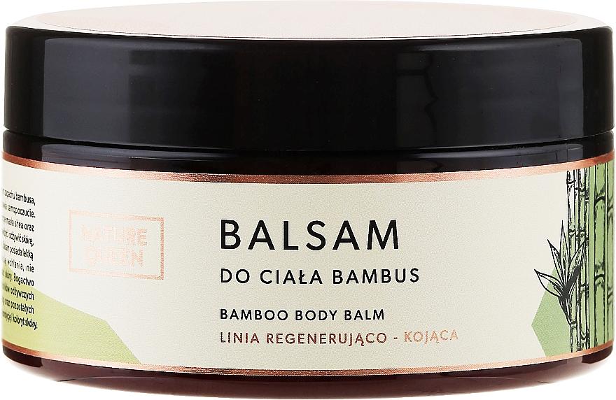 Körperbalsam mit Bambus - Nature Queen Body Balm