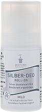Düfte, Parfümerie und Kosmetik Mildes Silber-Deo Roll-on Antitranspirant - Bioturm Silver Mild Deo Roll-On No.38