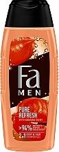 Düfte, Parfümerie und Kosmetik Duschgel mit Guaranáduft - Fa Men Pure Refresh With Guarana Scent
