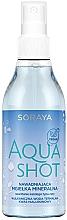 Düfte, Parfümerie und Kosmetik Feuchtigkeitsspendender mineralischer Gesichtsnebel mit Thermalwasser und Hyaluronsäure - Soraya Aquashot