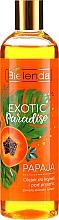"""Düfte, Parfümerie und Kosmetik Bade- und Duschöl """"Papaya"""" - Bielenda Exotic Paradise Bath & Shower Oil"""