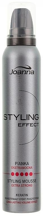 Schaumfestiger mit extra starkem Halt - Joanna Styling Effect Styling Mousse Extra Strong