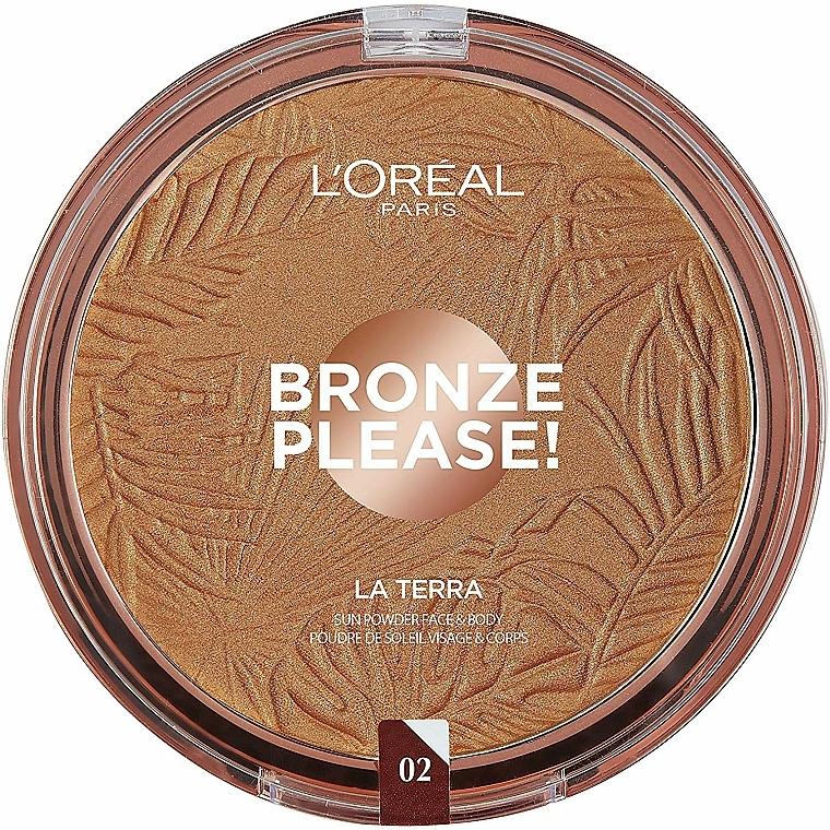 Gesichtsbronzer - L'Oreal Paris La Terra Joli Bronze Bronzer