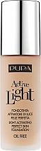 Düfte, Parfümerie und Kosmetik Flüssige Foundation mit Active Light-Technologie und LSF 10 - Pupa Active Light SPF10
