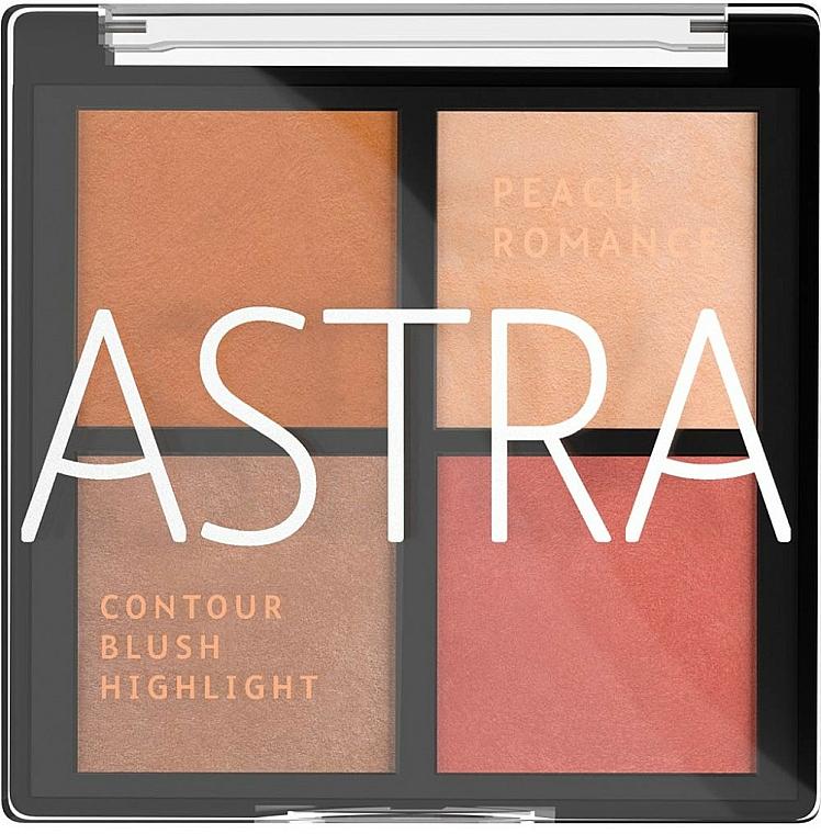 Make-up Palette - Astra Make-up The Romance Palette — Bild N1