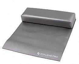 Düfte, Parfümerie und Kosmetik Maniküre-Handauflage mit Tuch Mini grau - Staleks Pro Expert 10 Type 2