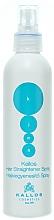 Düfte, Parfümerie und Kosmetik Haarglättungsspray - Kallos Cosmetics Hair Straightener Spray