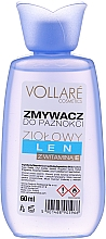 Düfte, Parfümerie und Kosmetik Nagellackentferner mit Leinenextrakt und Vitamin E - Vollare Cosmetics