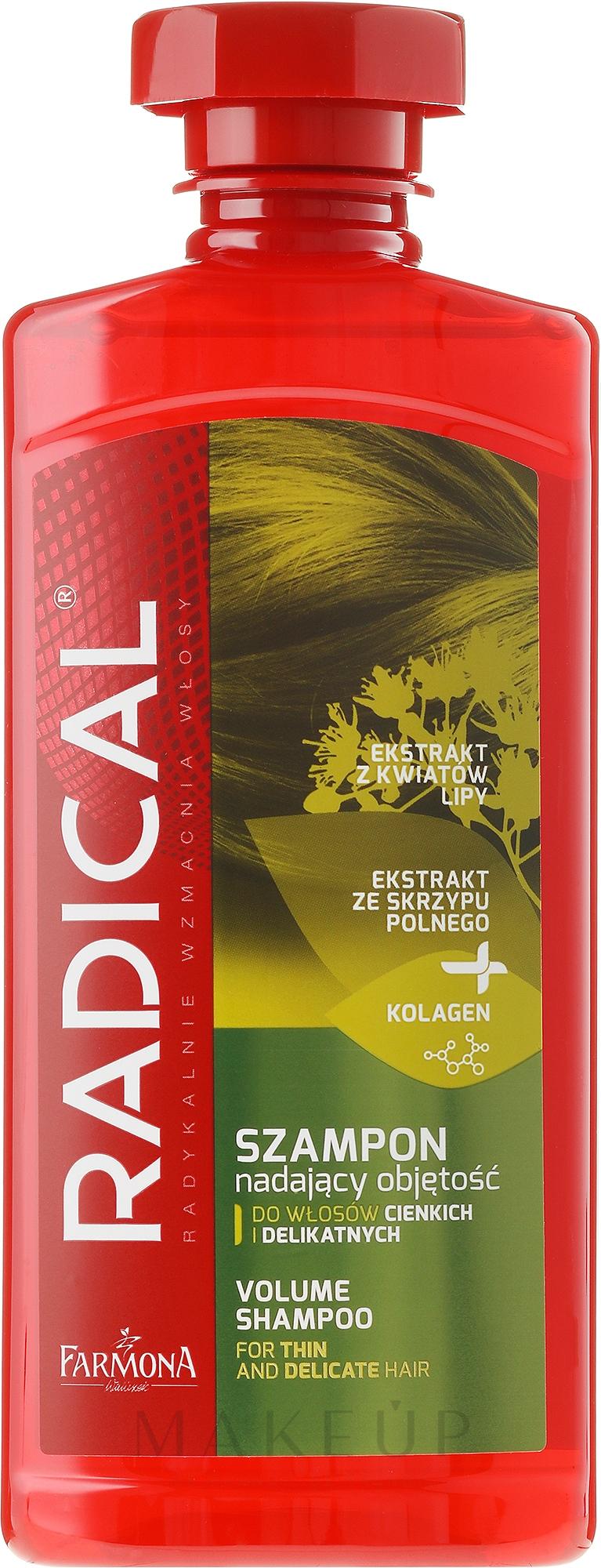 Shampoo für mehr Volumen - Farmona Radical Volume Shampoo — Bild 400 ml