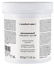 Düfte, Parfümerie und Kosmetik Aufweichendes, glättendes und nährendes Körperpeeling mit vulkanischen Partikeln - Comfort Zone Aromasoul Volcanic Scrub