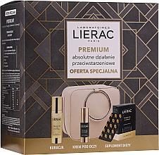 Düfte, Parfümerie und Kosmetik Gesichtspflegeset - Lierac Premium (Kapseln 30 St. + Gesichtsserum 30ml + Augencreme 15ml)