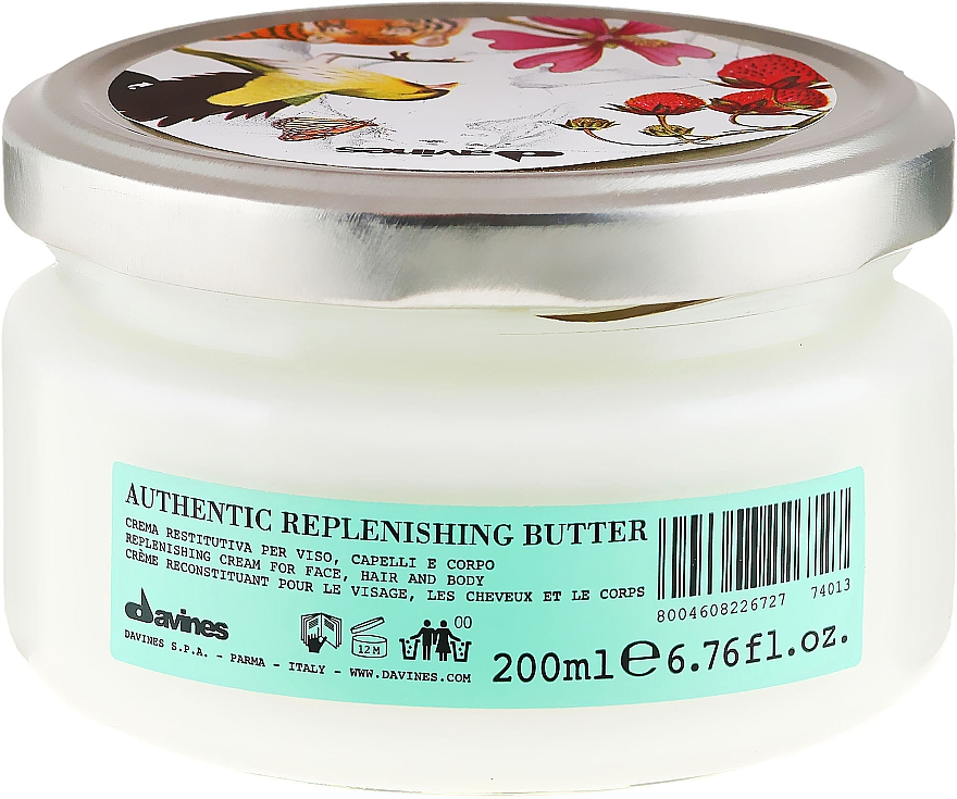 Regenerierende und feuchtigkeitsspendende Butter für Gesicht, Haar und Körper - Davines Authentic — Bild N2
