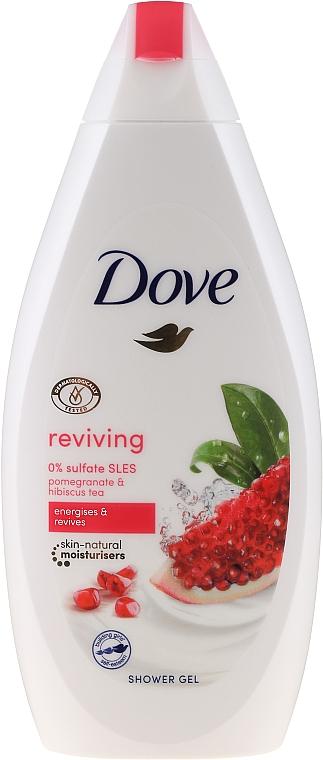 Duschcreme mit Granatapfel & Hibiskus Tee - Dove Reviving Body Wash