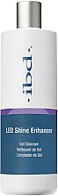 Düfte, Parfümerie und Kosmetik 2in1 Gel-Reiniger und Nagelentfeuchter mit Glanz-Effekt - IBD LED Shine Enhancer Gel Cleanser