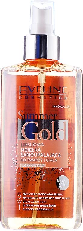 5in1 Selbstbräuner für helle Haut - Eveline Cosmetics Summer Gold Spray