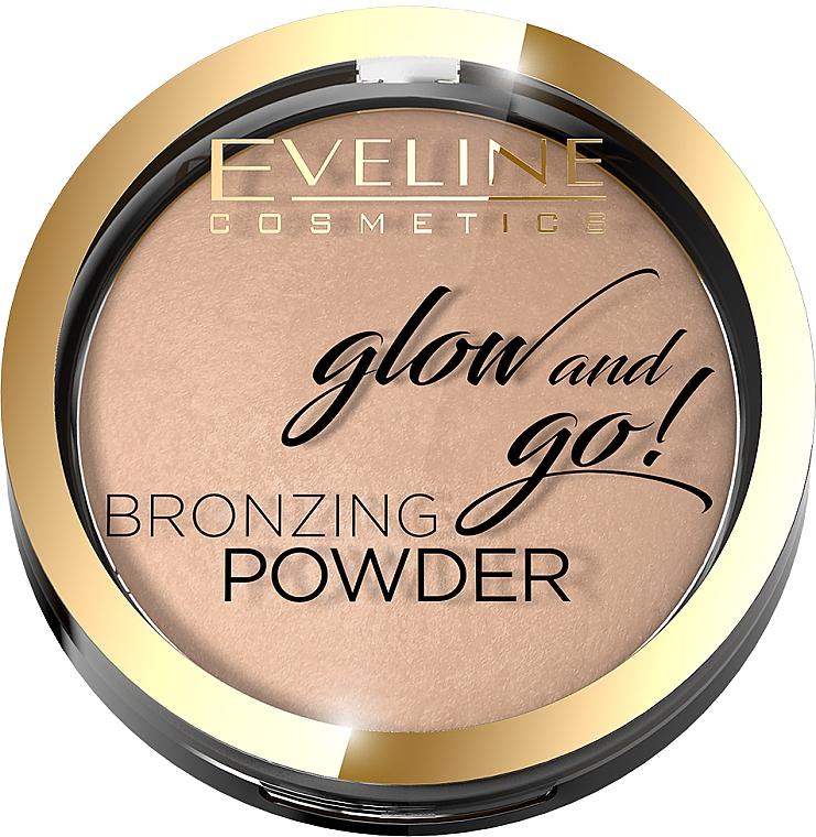 Bronzing-Puder - Eveline Cosmetics Glow & Go Bronzing Powder