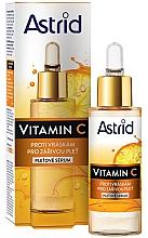 Düfte, Parfümerie und Kosmetik Ant-Falten Gesichtsserum mit Vitamin C - Astrid Vitamin C Anti-Wrinkle Serum