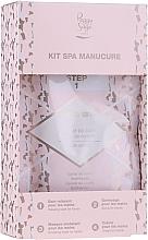Düfte, Parfümerie und Kosmetik Körperpflegeset - Peggy Sage Spa Manucure Kit (Badekaviar 20g + Peeling-Gelee 15ml + Modellierungsmaske 15ml + Handcreme 15ml)